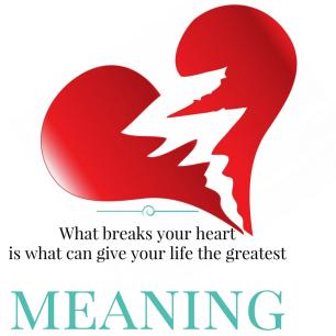 What breaks your heart is (1)